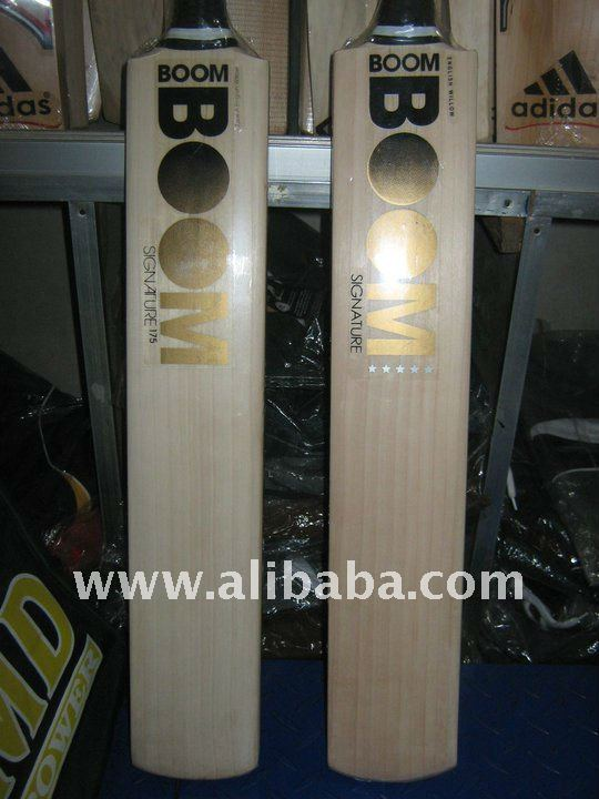 BOOM BOOM engihs willow cricket bat