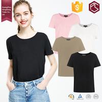 GuangZhou Professional factory 180g plain short sleeve 100 cotton quality custom ladies t shirt