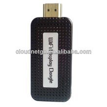 new relased Cloundnetgo CR-M200 Miracast Wifi Disply Android Dongle Mali 600 HDD player