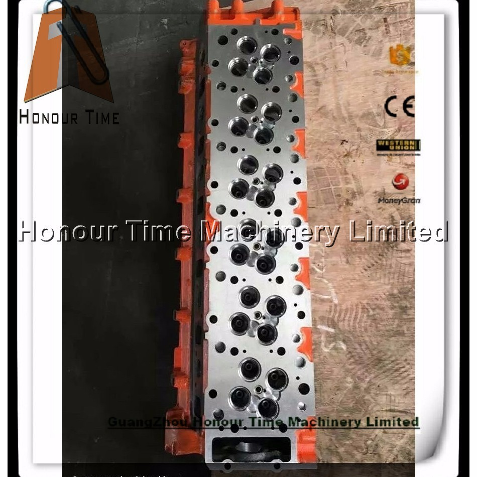 6HK1 Excavator diesel cylinder head for engine parts