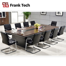 Modern big boardroom rectangular 10 person conference table