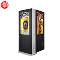 Double screen outdoor display Outdoor Floor Standing Lcd Advertising Digital Signage