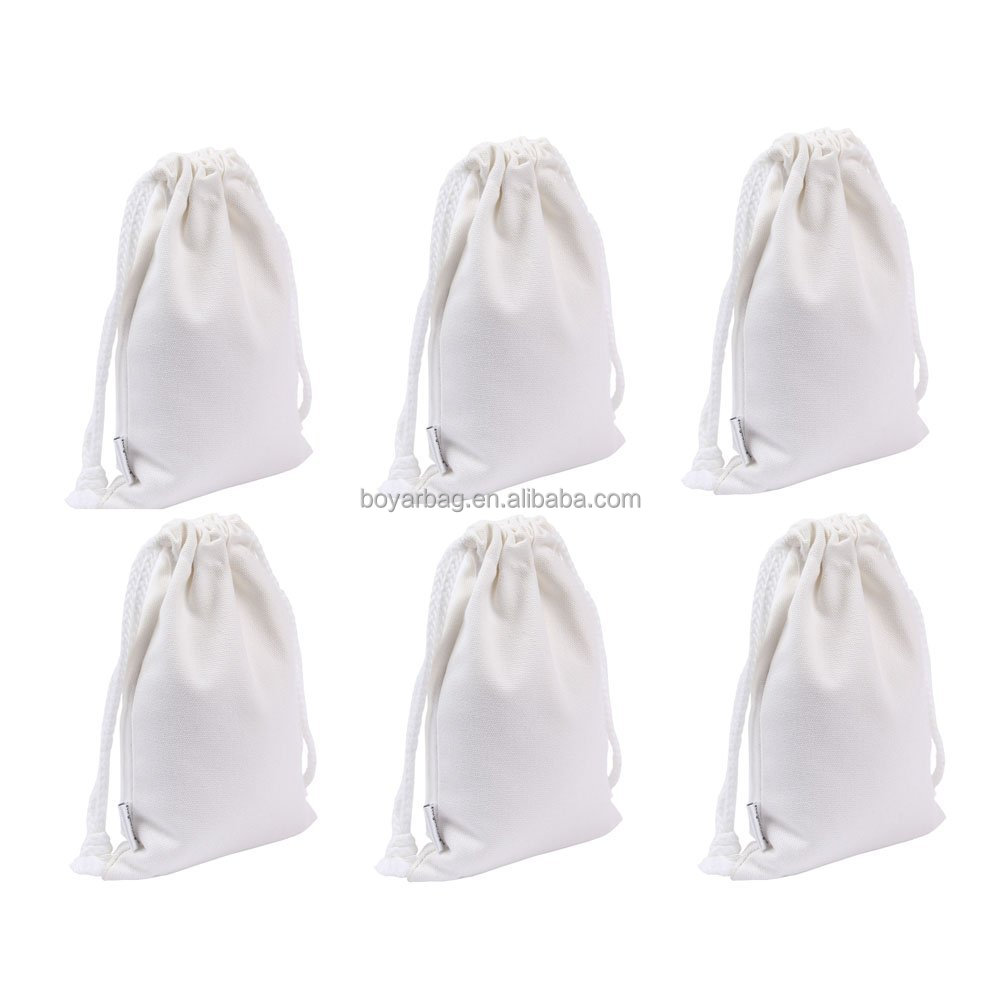 Cotton Bag Factory Drawstring Bag Cotton Custom Printed Muslin Bags