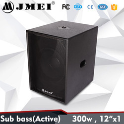 "JMEI Single 12"" Professional Sub Bass Loudspeaker DJ Speakers Subwoofer"