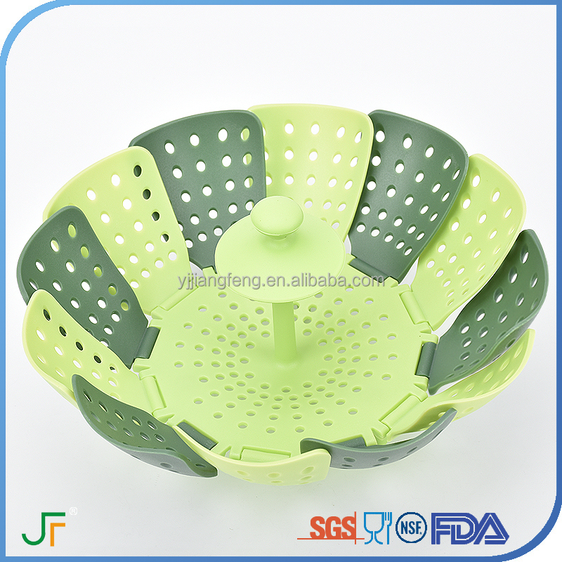 Hot Sale Amazon High quality Optima food vegetable Plastic Steamer