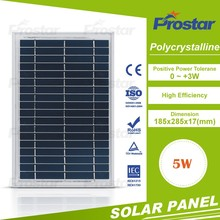 Top1 pv panel supplier A grade 4BB solar panel 5w 12v with good price Monocrystalline Silicon Solar Panel