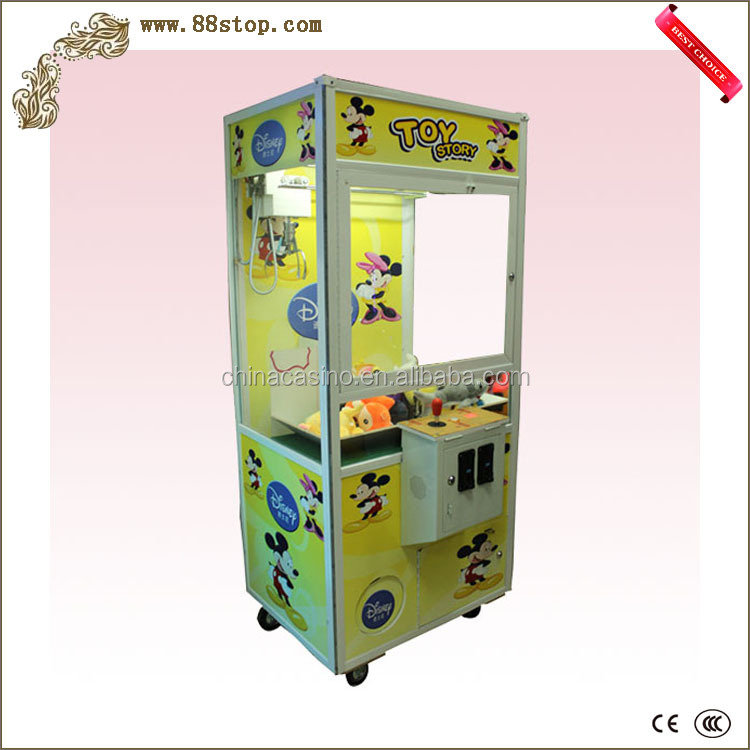 New style toy crane claw game machine amusement center toy game machine gift game machine