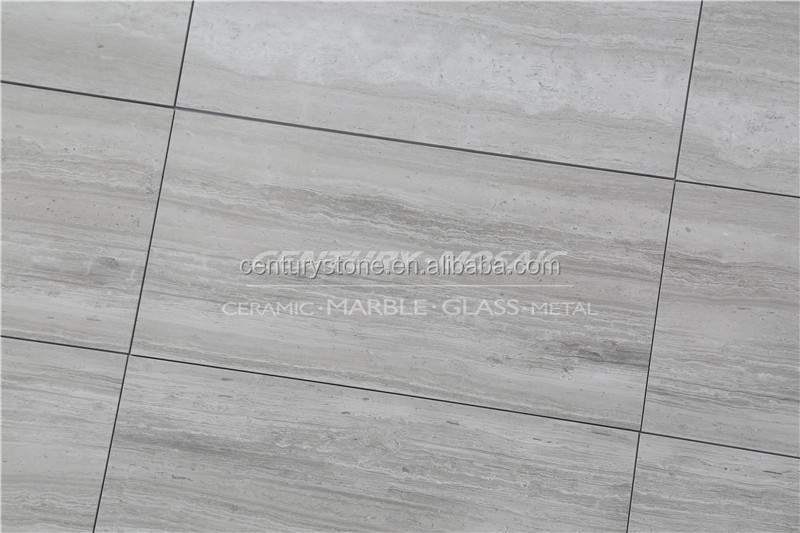 natural stone white color marble tile wood grain marble