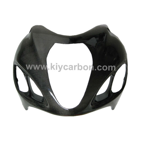 Carbon fiber hayabusa upper fairing for Suzuki motorcycle