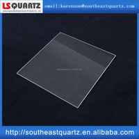 Large Size Clear Square Quartz Plate