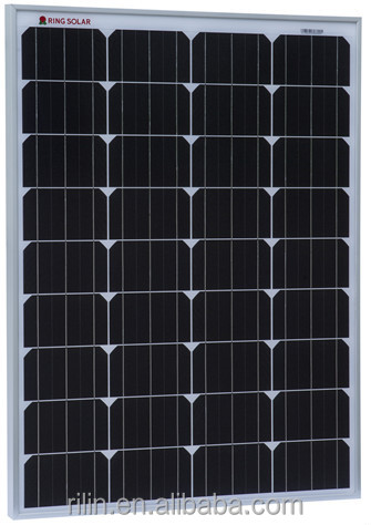 80W MONO Solar Panel 18V, flexibile dimension is acceptable, Ningbo Ring Solar CO., LTD