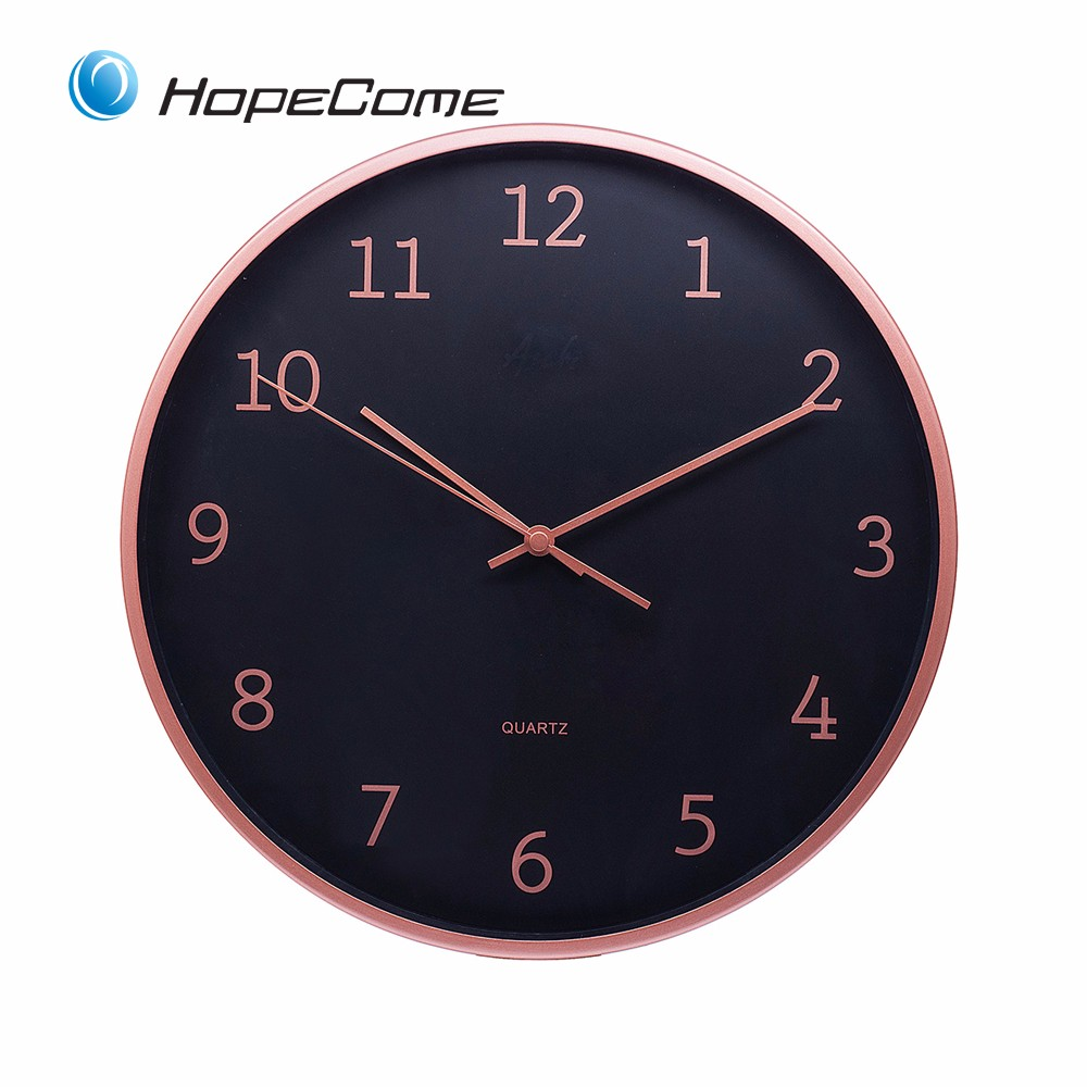 Aluminium Frame Metal Wall Clock
