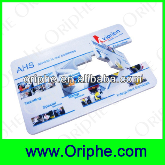 Promotional gift cheap usb flash drive card on sale