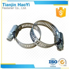 Professional Tighten Connecting Fittings exhaust pipe clamp 304 stainless steel spring America hose clamp