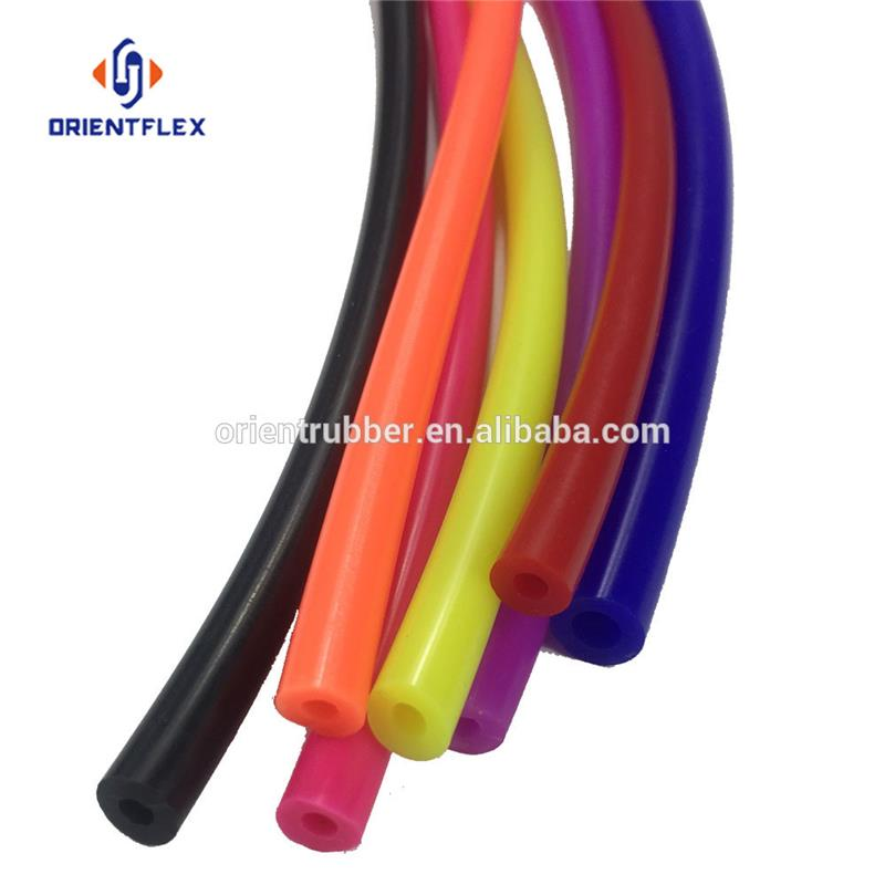 "China flexible anti-aging intercooler 5/16"" Inch Extruded Silicone Rubber Vacuum Hose distributor"