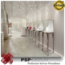 2017 modern custom design jewelry store decoration commerial store fixture showcase