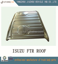 China supplier trucks cab body parts for sale roof covering plate