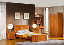 Modern solid wood kid children bedroom furniture design full set 8601