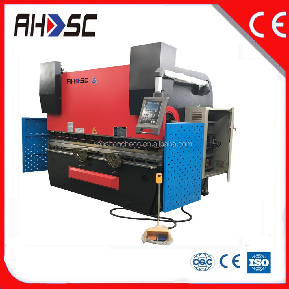 Driving with good quality hydraulic iron forge metal bending machine,WC67Y 400KN metal bending machine,used sheet metal bendin