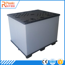 Folding Plastic Corrugated Shipping Container