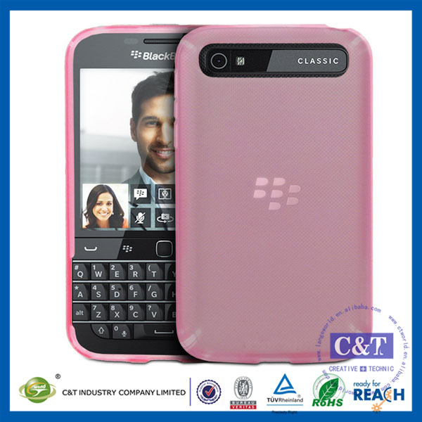 C&T Matte Finish TPU Flex-Gel Silicone Cases / Skins / Cover Cases for BlackBerry Classic