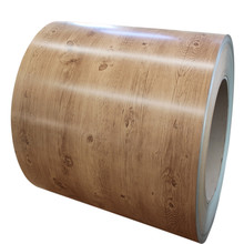 Print Prepainted Galvanized Steel Coil/Wood Cottage Color Coated Steel Sheet for Wall Decoration