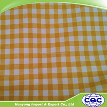 100% cotton fabric 130gsm 44 inches width plaid flannel fabric for sale