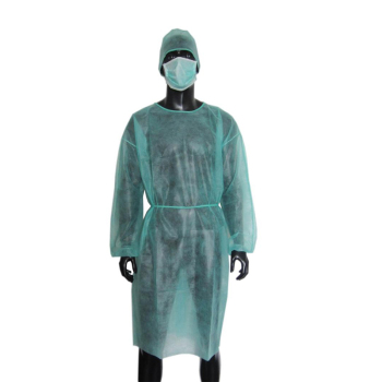 Surgeon non-woven surgical medical disposable isolation gown for hospital nurse