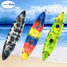 durable wholesale plastic outrigger canoe 1 man kayak