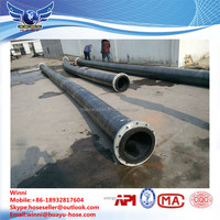 fiber braided industrial hydraulic vacuum suction hose/flexible suction hose