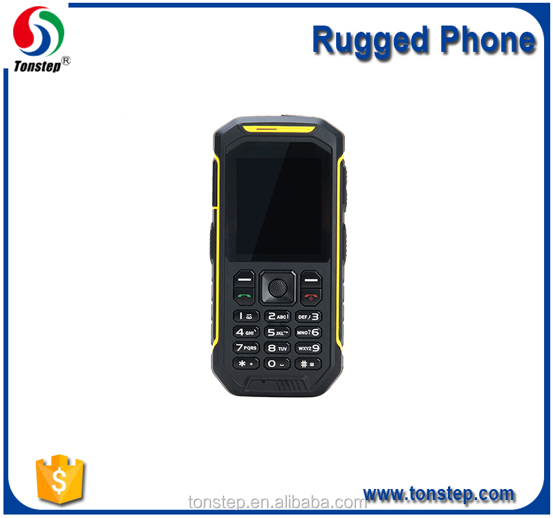 2.4 inch Long time standby Multi language GSM Waterproof Rugged old fashioned mobile phone with camera keyboard phone
