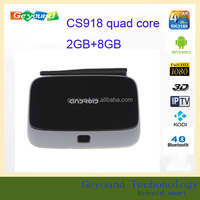 Rk3188 Quad Core Full Loaded with Kodi Xbmc 2G 8G CS918 Android TV Box Media Player