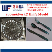 customized 24 cavity high quality plastic injection spoon mould making