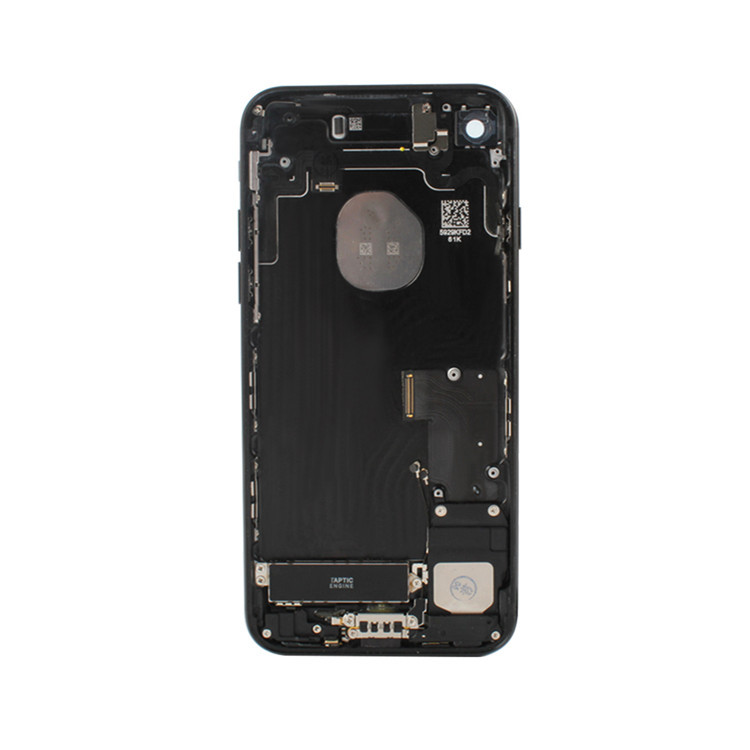 Hot Mobile Phone Replacement Back Rear Housing Chassis Cover Frame for iPhone 7 7+ jet black