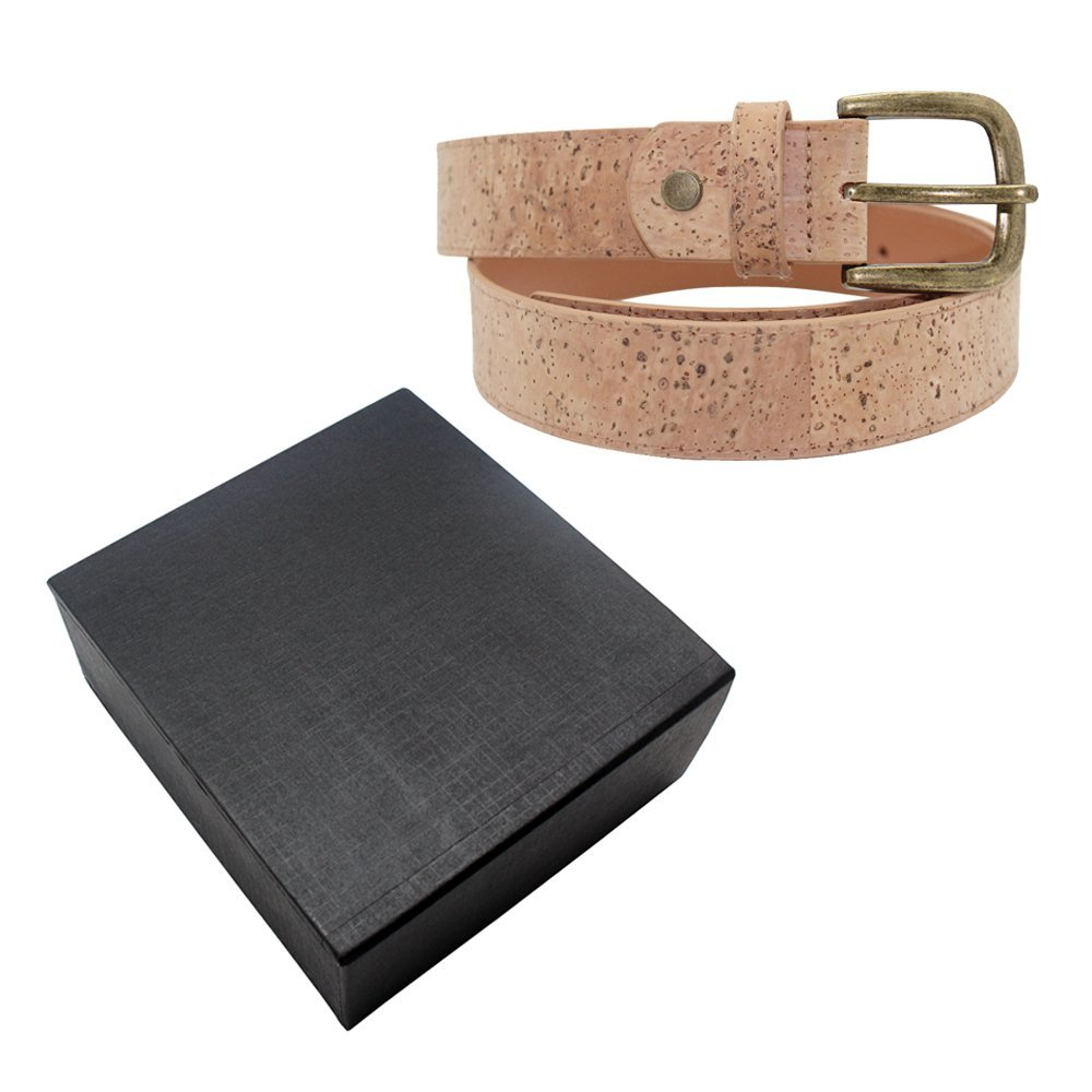 Eco Friendly Cork Leather Belt