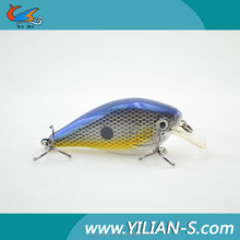 2016 New listing! Vivid 3D eyes 69mm 12.7g crank bait fishing lure / live bait bibi , mould for sinkers