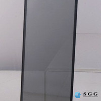 5mm, 6mm Light Gray Reflective Glass sheet cut to size