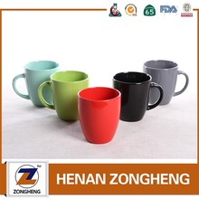 wholesale 11 oz color glaze drinking custom ceramic mug cup
