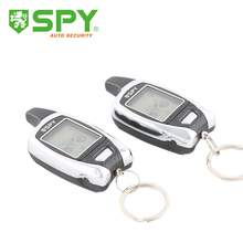 SPY LCD motorcycle alarm system two way remote start & proximity sensor