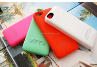 2200mah External Backup Battery Cover Charger Case for iPhone5 5s 5c Battery Case