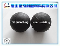High hardness oil quenching wear resisting casting grinding balls