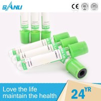OEM acceptable various color capillary tube heparin sodium heparin tube
