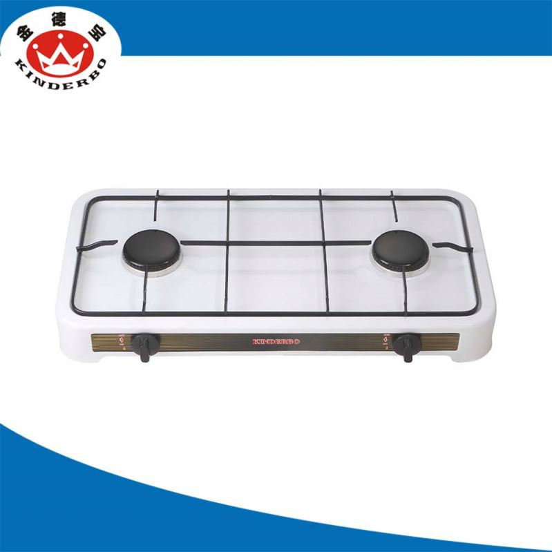2 burner High Efficiency biomass cooking stove