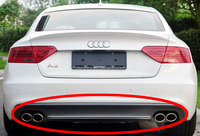 Sline Style High Quality PU Rear Diffuser Fit For Audi A5 4door Non-Sline Bumper 2012UP A037F