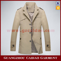 2016 Top selling cheap china wholesale clothing mens trench coat