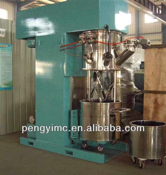 Vacuum Heating Cooling Chemical Double Shaft