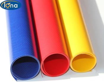 Durable plastic tarpaulin sheet,waterproof PVC laminated tarp,Fire resistance vinyl woven fabric for bag