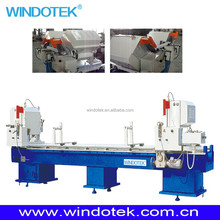 Upvc and aluminum Window Profile Double Mitre Cutting Saw
