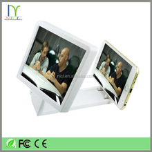 Portsble 3D Mobile Phone Screen, Folding 3D Magnifier Good quality HD Amplifier Enlarge Stand