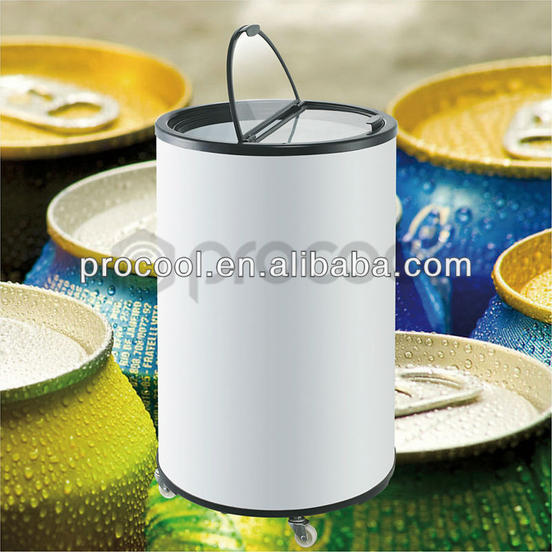 promotional 55L mini refrigerator can cooler for beverage